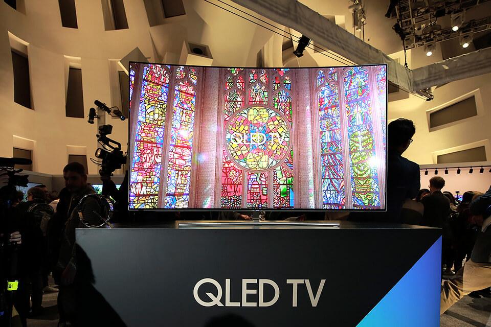 Samsung�s new QLED TVs dramatically enhanced color performance