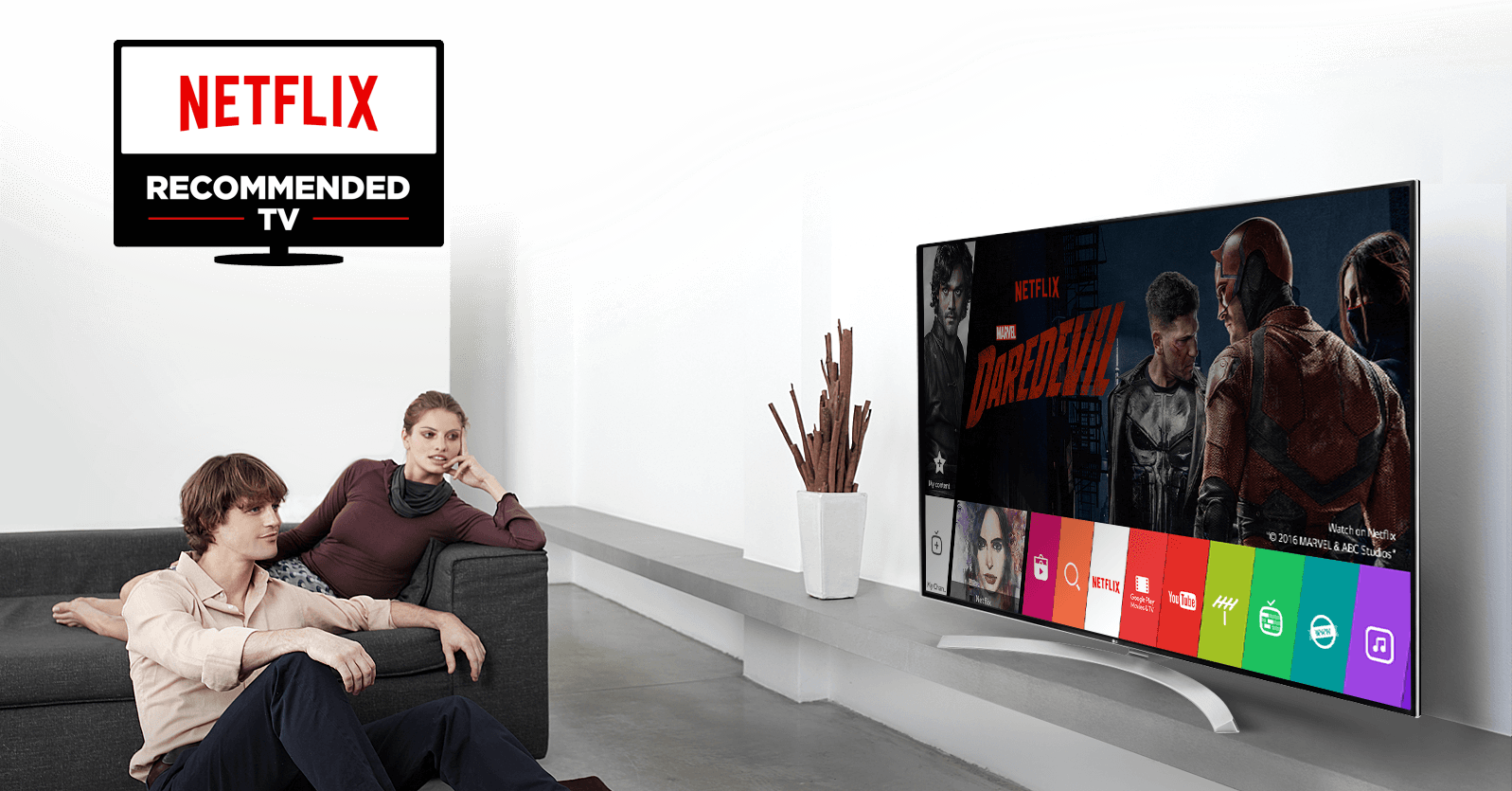 Netflix Recommended TV list