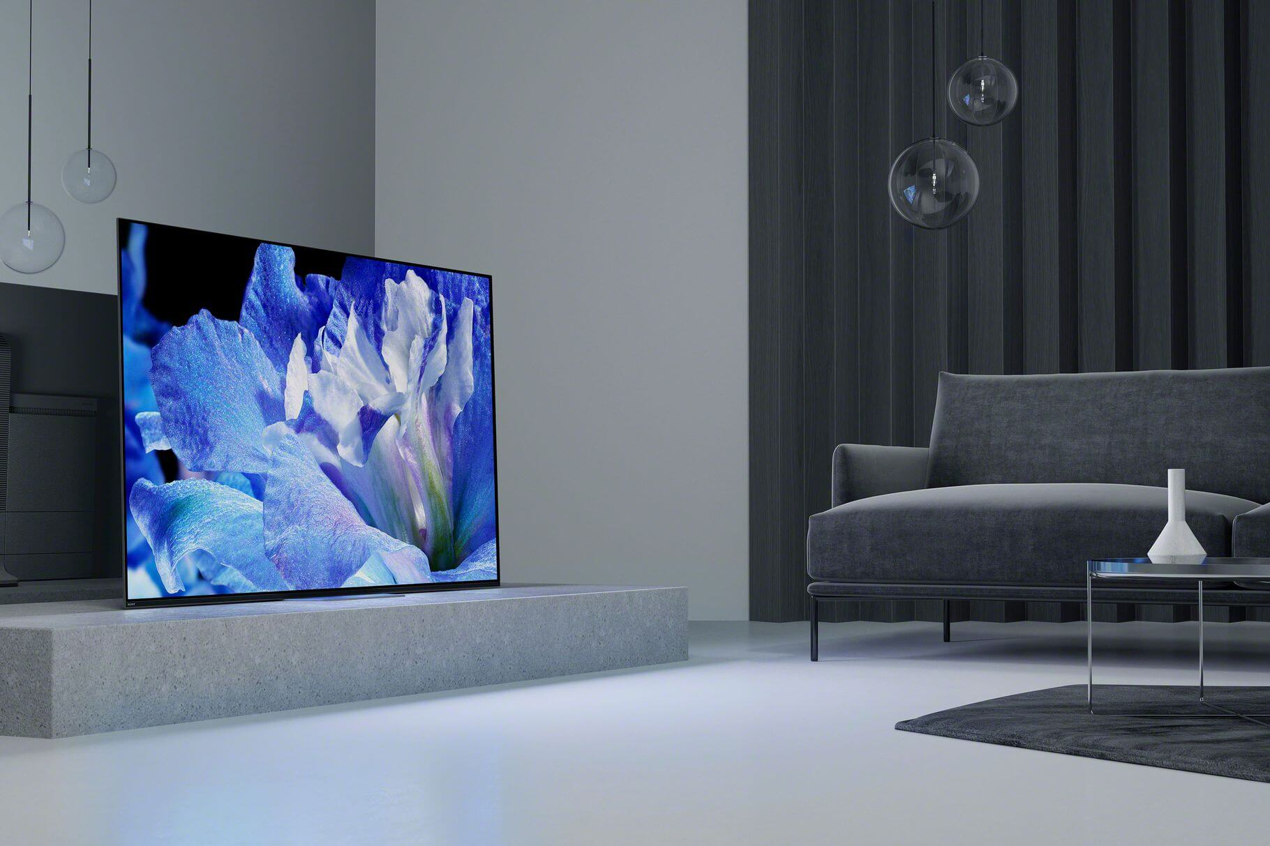 Sony�s AF8 4K OLED features �a more traditional TV design� with visual and audio upgrades