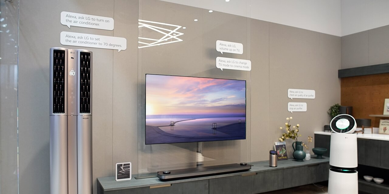 LG ThinQ and Google Assistant - AI